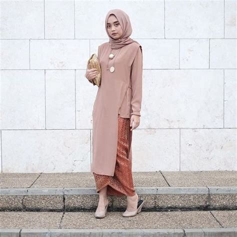 Tunik Asimetris Atasan Wanita kain batik dan tunik asimetris 480x480 ide model busana