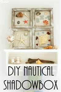 Nautical Decor For The Home Diy Nautical Decor Beach Themed Shadowboxes