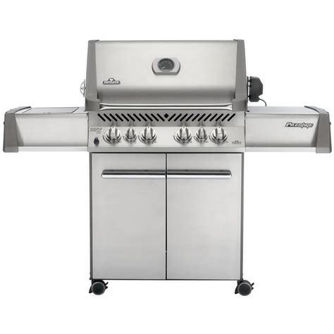Napoleon Pits napoleon prestige 500 gas bbq grill with rear infrared burner and infrared side burner
