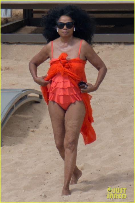 by ken levine diana ross as hot lips diana ross rocks one piece bathing suit in hawaii photo