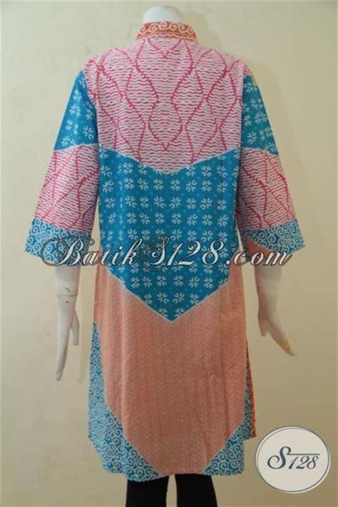 desain baju batik wanita untuk pesta sedia baju batik modern wanita muda blus batik warna