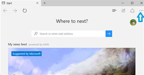 how to set homepage in microsoft edge browser on windows