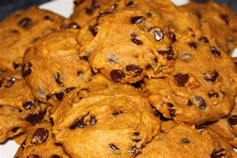pumpkin chocolate chip cookies two ways alice in the kitchen