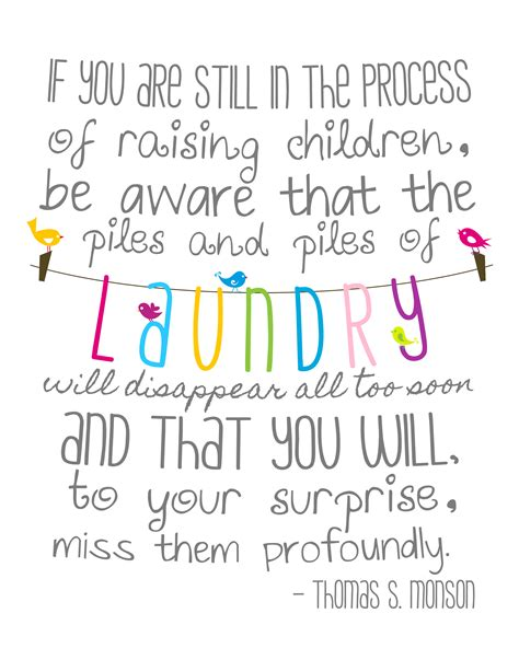 Printable Laundry Room Quotes | free piles of laundry 8x10 printable three little