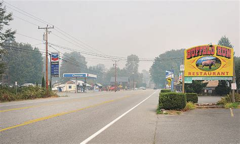 Wildfire On The Skagit marblemount businesses feel effects of wildfire all