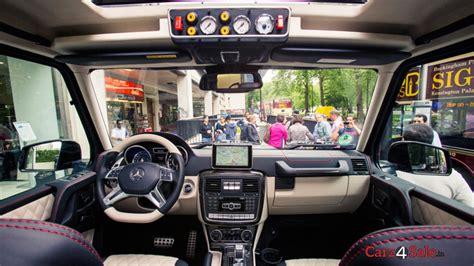 mercedes g class 6x6 interior brabus g700 6x6 to a million carz4sale