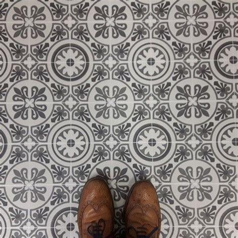 patterned cushion sheet vinyl flooring moroccan design
