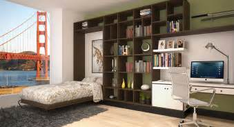 Cheap Living Room Decorating Ideas Apartment Living 8 versatile murphy beds that turn any room into a spare