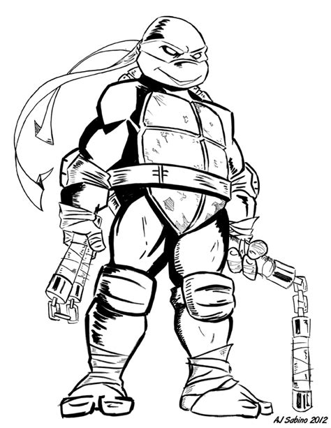 michelangelo turtle coloring page free tmnt shredder coloring pages