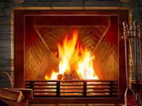 3d fireplace desktop wallpaper