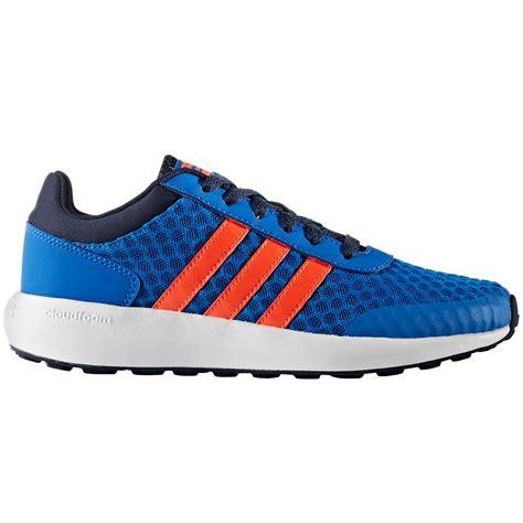 adidas boys cloudfoam race shoes bob s stores