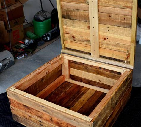 diy coffee table with storage diy vintage pallet coffee table with secret stash pallet