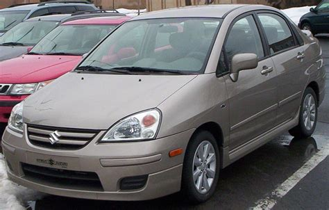 books about how cars work 2005 suzuki aerio free book repair manuals file 2005 07 suzuki aerio sedan jpg wikimedia commons