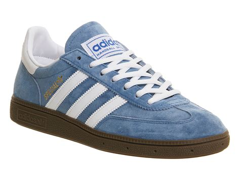 Adidas Handball Spezial Blue White adidas handball spezial blue running white trainers shoes
