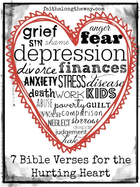verse on comfort 7 bible verses for the hurting heart