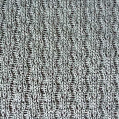 machine knit lace tuck lace stitch pattern for machine knitting kin 6510