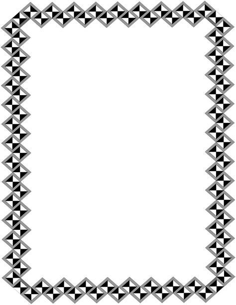 lettere arabe stilizzate decor border page page frames square deco
