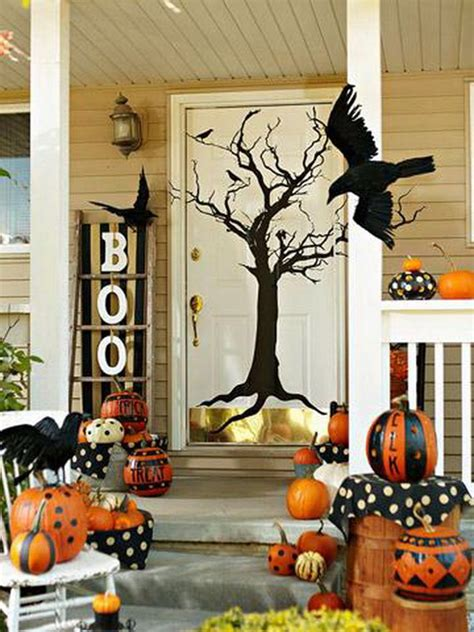 home halloween decor 50 cool outdoor halloween decorations 2012 ideas family