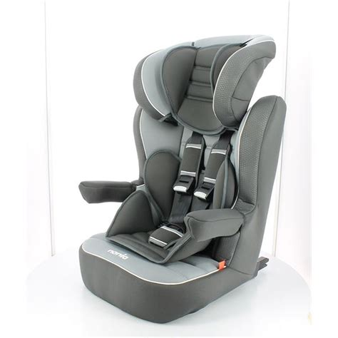 Siege Auto Nania Inclinable by Rehausseur I Max Luxe Isofix Shadow Groupe 1 2 3 Nania