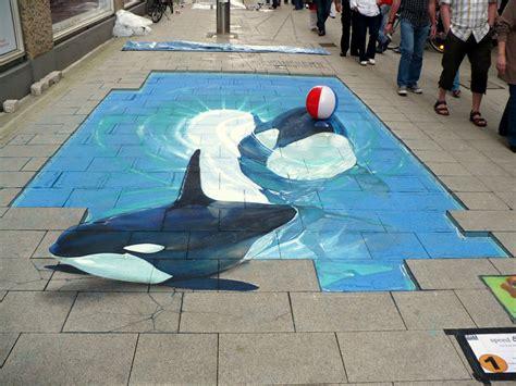 Shark Wall Murals beautiful 3d street art by nikolaj arndt 20 pics i