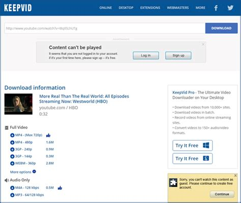 download youtube keepvid how to download youtube videos without keepvid html