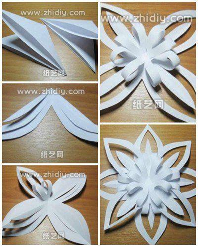 Autumn Design Paper Craft Origami Kertas Lipat origami snowflake step by step diy tutorial snowflakes diy tutorial origami and