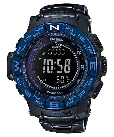 Casio Protrek Prw 3500syt 1dr Black Blue august 2015 protrek black blue prw 3500syt 1