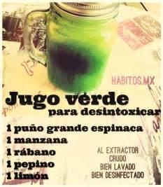 Jugo Verde Detox De Las Famosas by Jugo Verde Para Desintoxicar Espinacas Manzana R 225 Bano