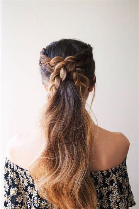 Braid And Ponytail Hairstyles by New Hairstyle Ideas Ponytails With Braids Hair World
