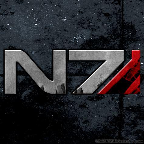 N7 Mass Effect mass effect n7 logo edition 2 by lincer556 on deviantart