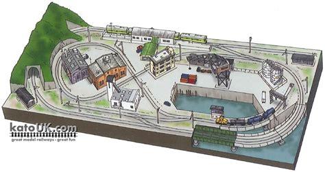 kato layout video kato unitrack rinko line track plan