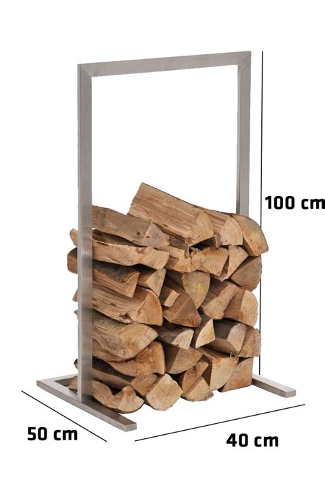 details about firewood rack sidone stainless steel log