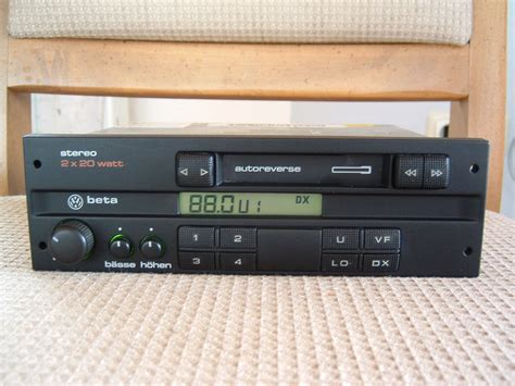 Golf 3 Autoradio by Vw Beta Radio Ausbau Vw Golf 3