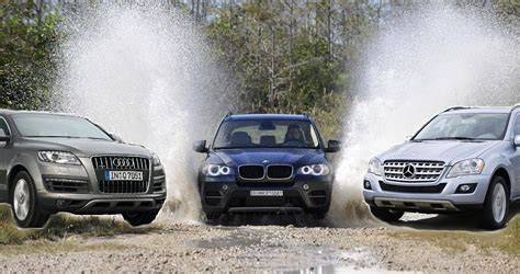 Bmw X5 Vs Audi Q7 by Comparison Bmw X5 Lci Vs Audi Q7 Vs Mercedes Ml