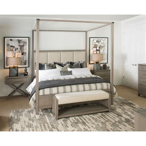 highline panel bedroom set rachael ray home by legacy rachael ray home 6000 4506k highline upholstered poster