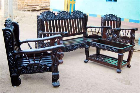 new style wooden sofa set rustic and classic wooden sofa set designs indian style