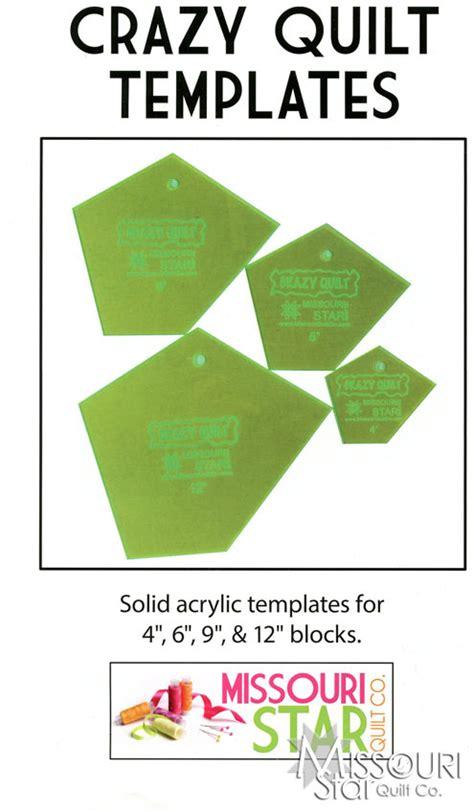 crazy quilt templates msqc