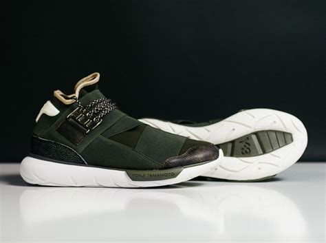 Nikea Airmex Y3 adidas y 3 qasa high khaki available sneakernews