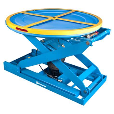 pneumatic lift table ez loader mobile scissor tables uk