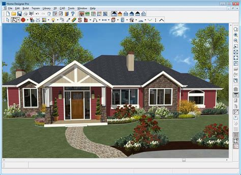 Exterior Home Design Software Free 3d Exterior Home Exterior Home Design Software