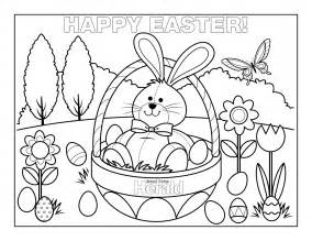 easter coloring happy easter coloring pages free large images