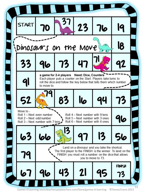printable math games on place value fun games 4 learning math games gift for you
