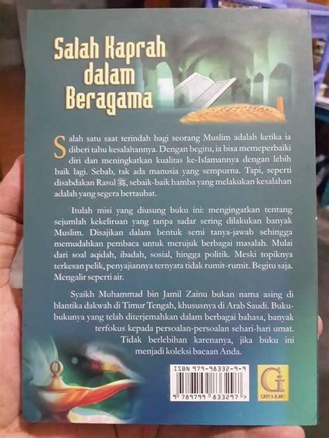 Buku Mukhtashar Al Fawaid Untaian Faidah Penuh Hikmah buku salah kaprah dalam beragama toko muslim title