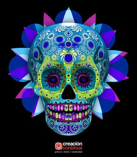 calaveras mexicanas calavera mexicana 3d en behance dia de muertos day of
