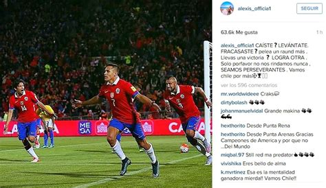 alexis sanchez instagram video alexis s 225 nchez comparte emotiva arenga en instagram pero