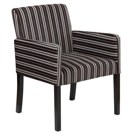 Brown Striped Armchair Armchair Fabric Brown With Stripes