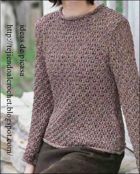 puntos de chompas para mayores mujeres tejidos a dos agujas tricot patrones graficos todo