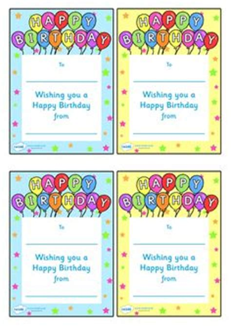 printable birthday cards ks1 free these are birthday certificates for any teacher to