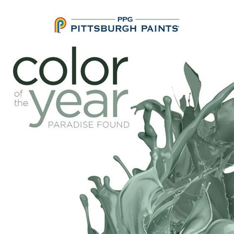 1000 images about 2016 paint color of the year paradise found on paint brands