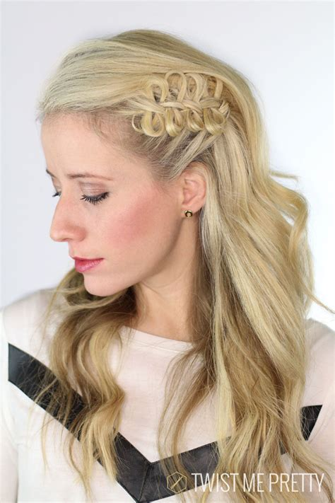 pretty hairstyles using braids cute girls hairstyles bow braid 1 hairzstyle com